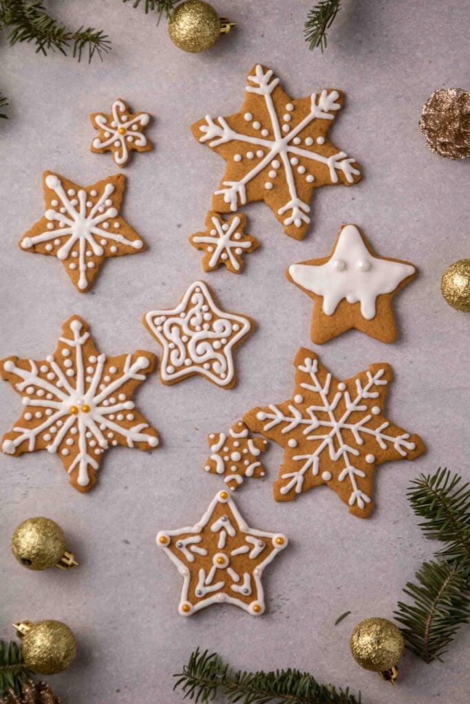 Star cookie decoration ideas