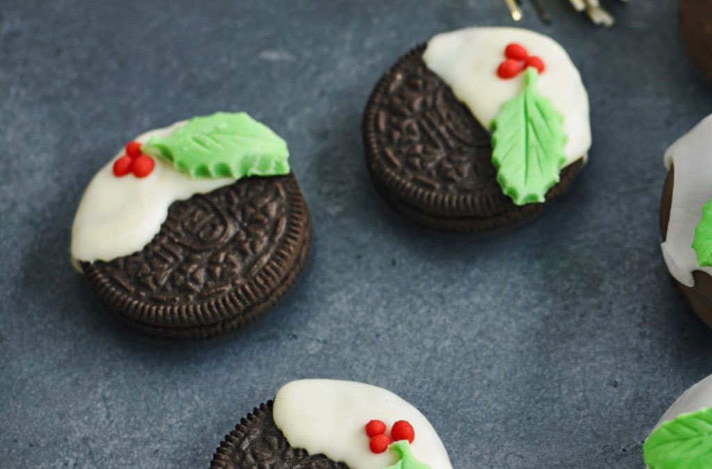 Christmas oreos to make with kids