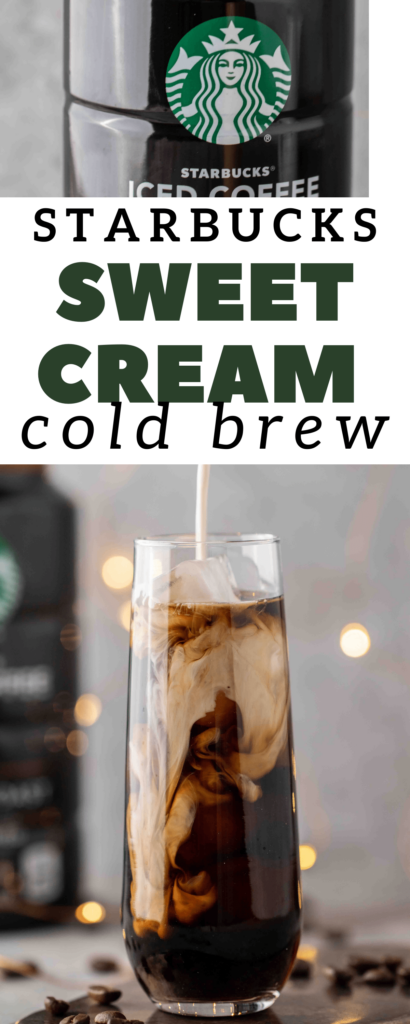 Starbucks copycat vanilla sweet cream cold brew