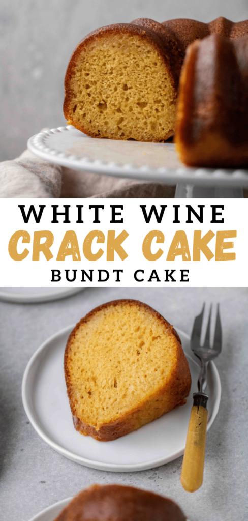 White cake butter cake