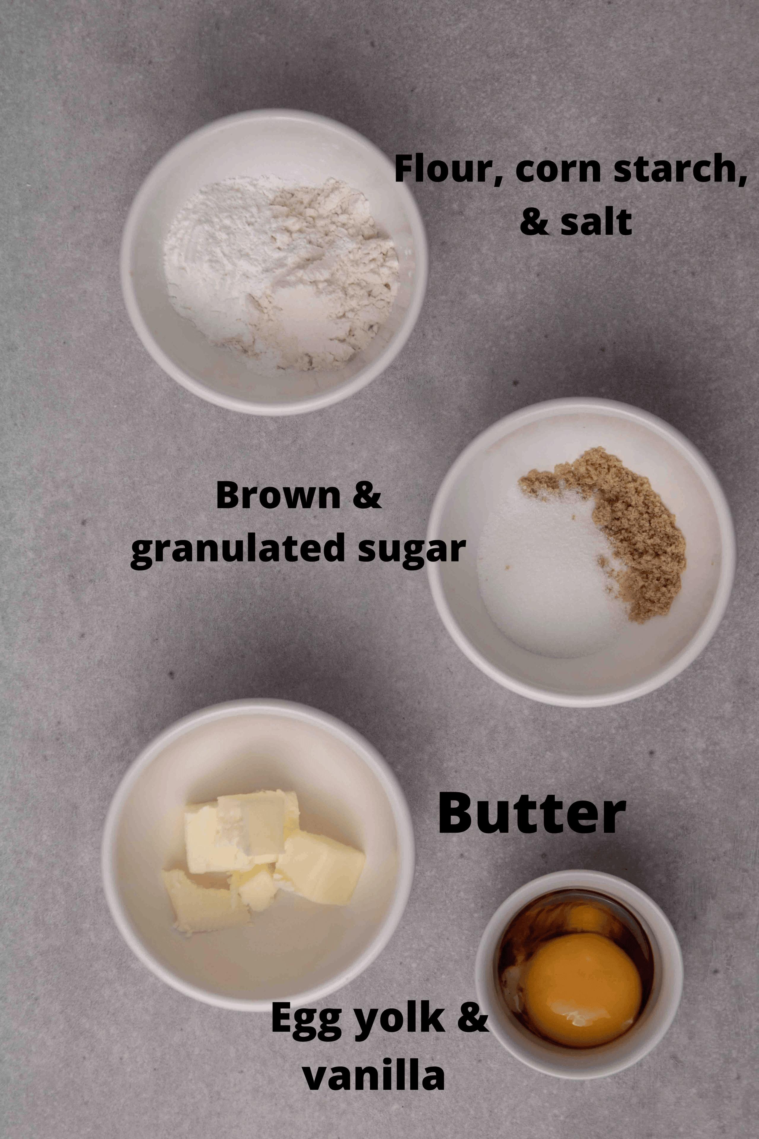 Mug sugar cookie ingredients