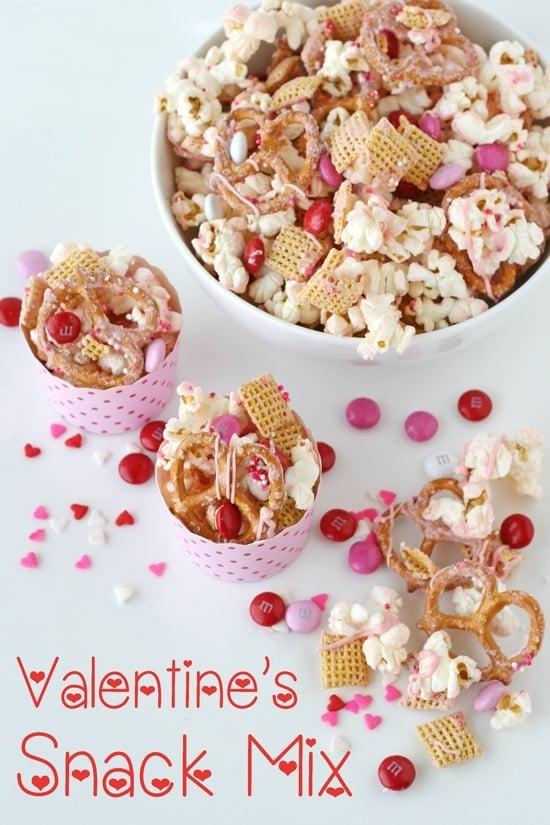 No bake Valentine's recipes for kids