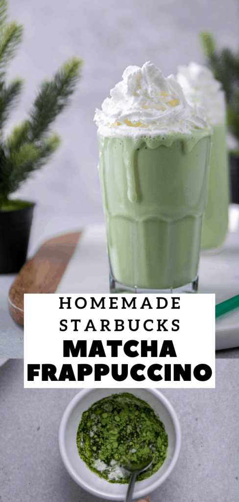 green tea drink pinterest collage