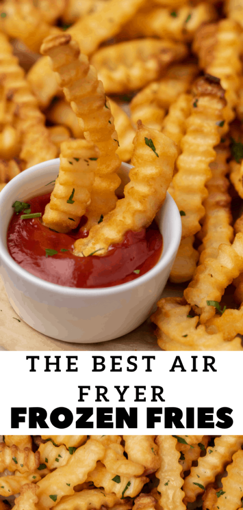 Easy air fryer frozen French fries