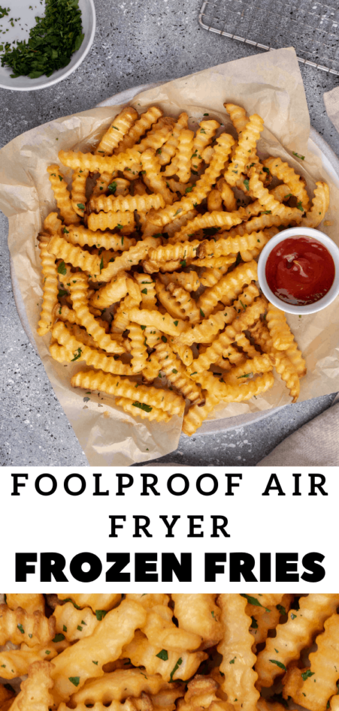 Frozen fries in Ninja foodi