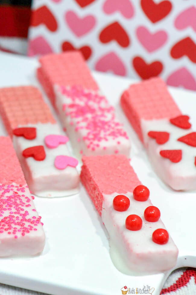 No bake Valentine's day recipes for kids