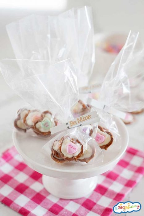 No bake Valentine's day kid's treats
