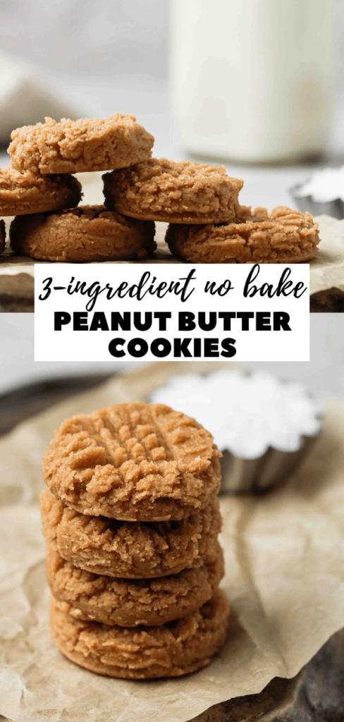 gluten free no bake peanut butter cookies