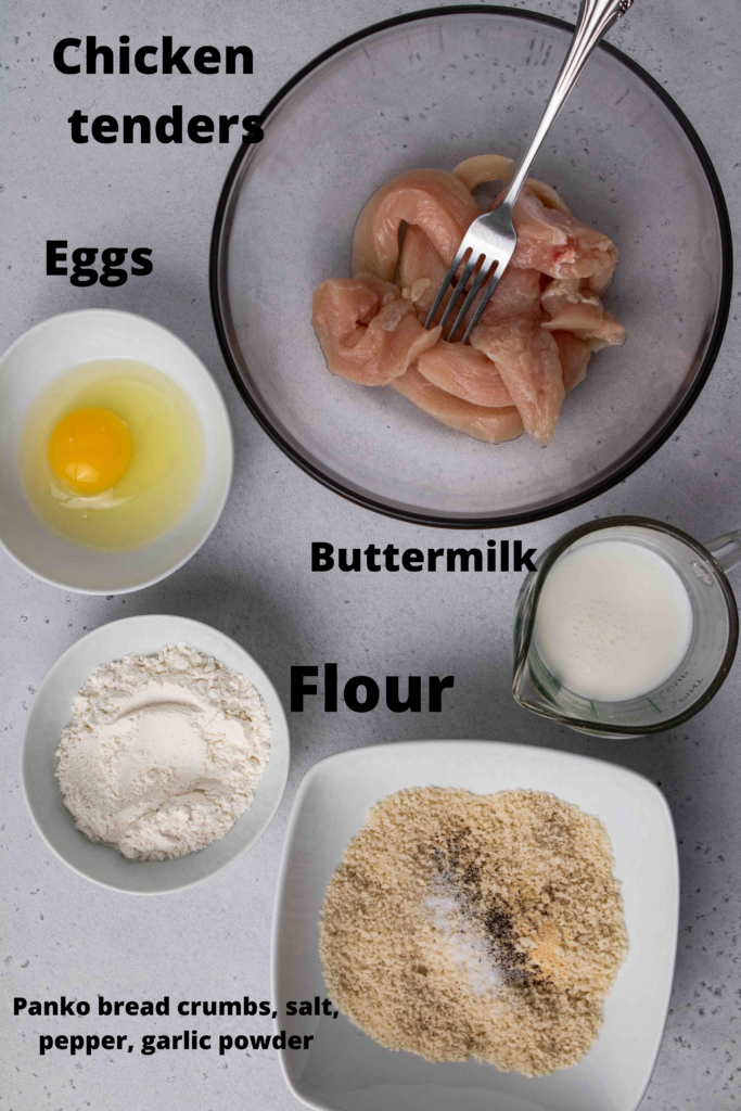 Air fried chicken tenders ingredients