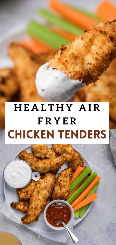 How to make chicken tenders in the air fryer