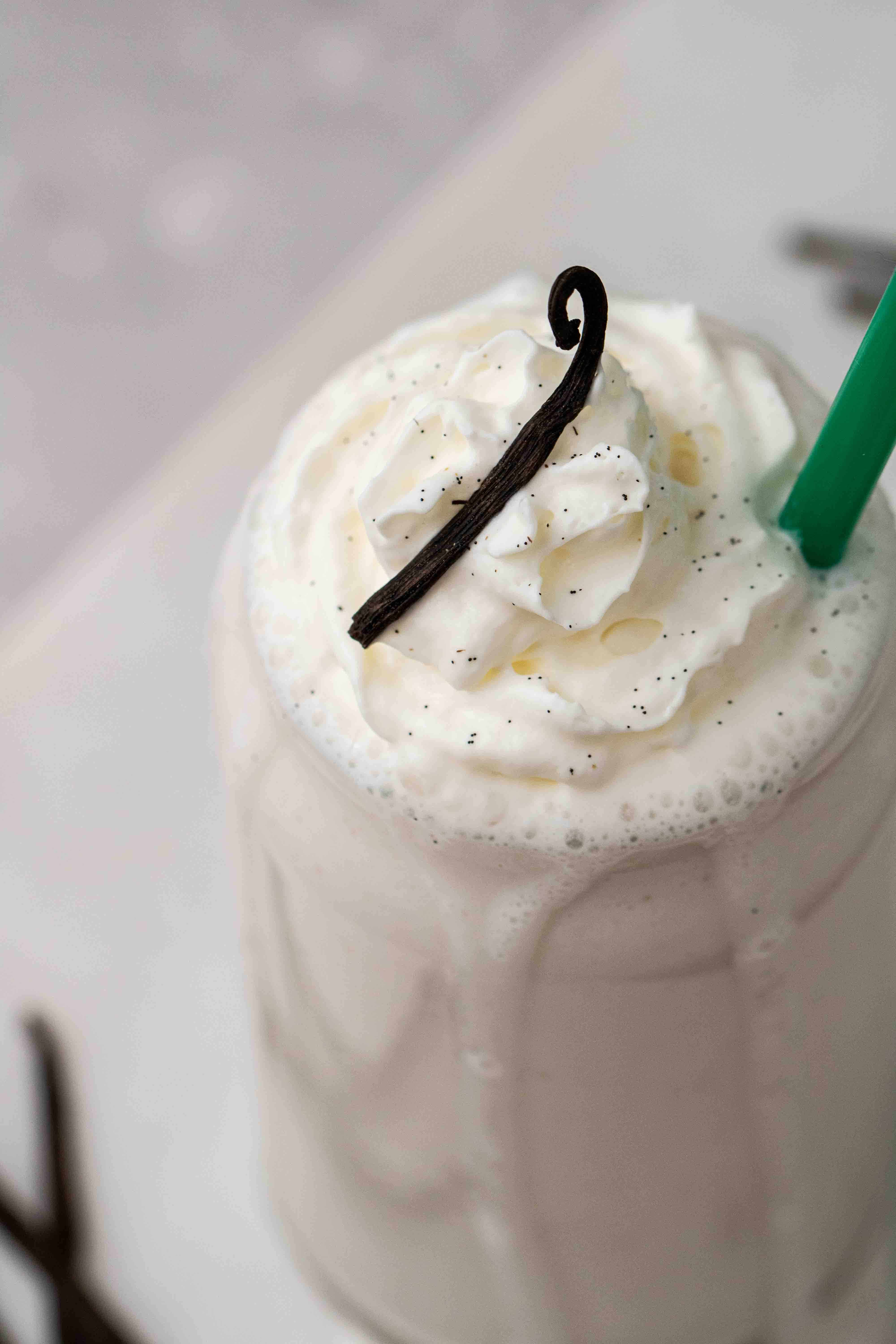 What is a vanilla bean frappuccino