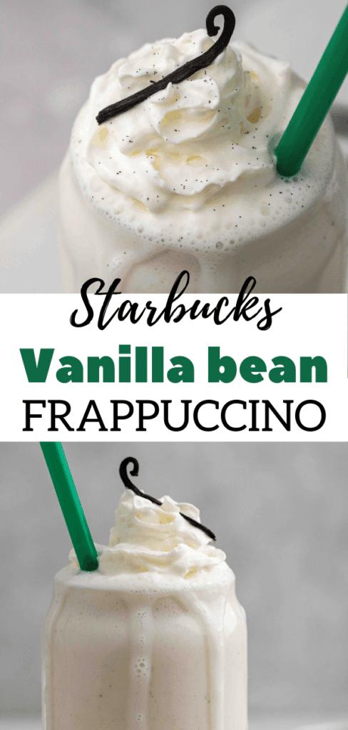 Save money with a homemade vanilla frappuccino