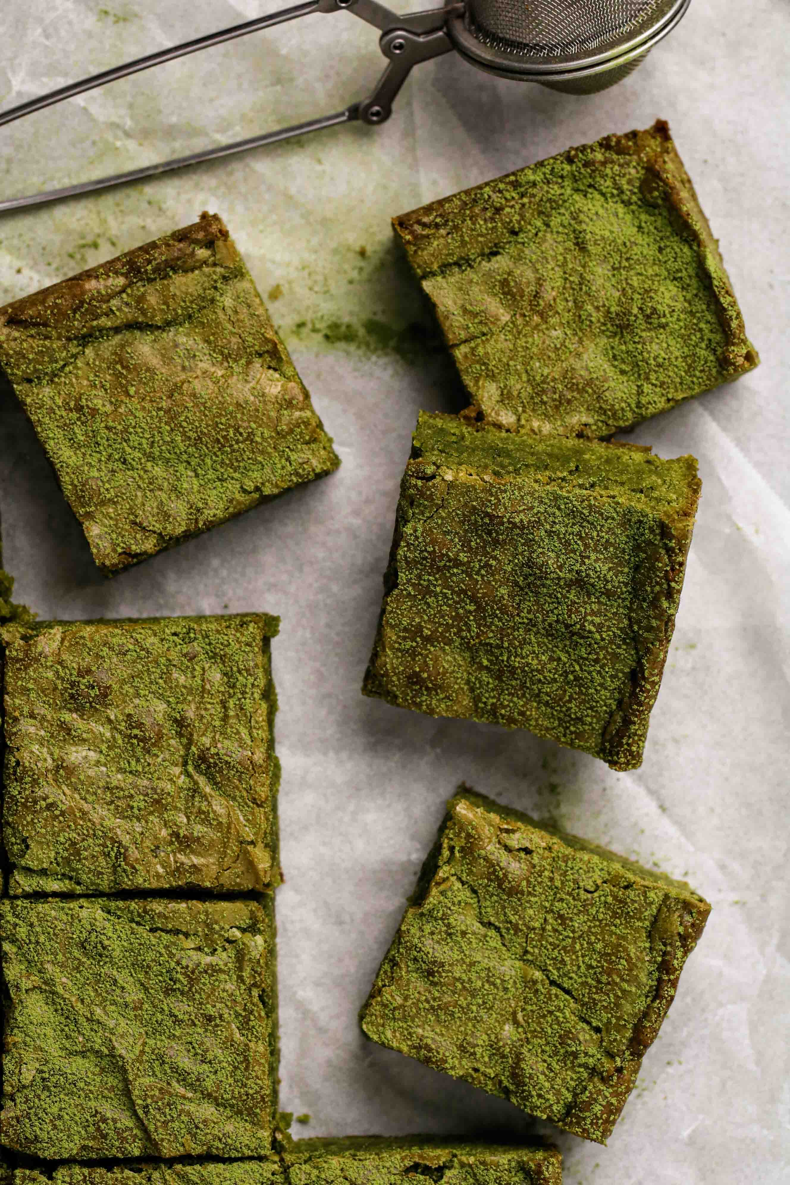 What are matcha brownies
