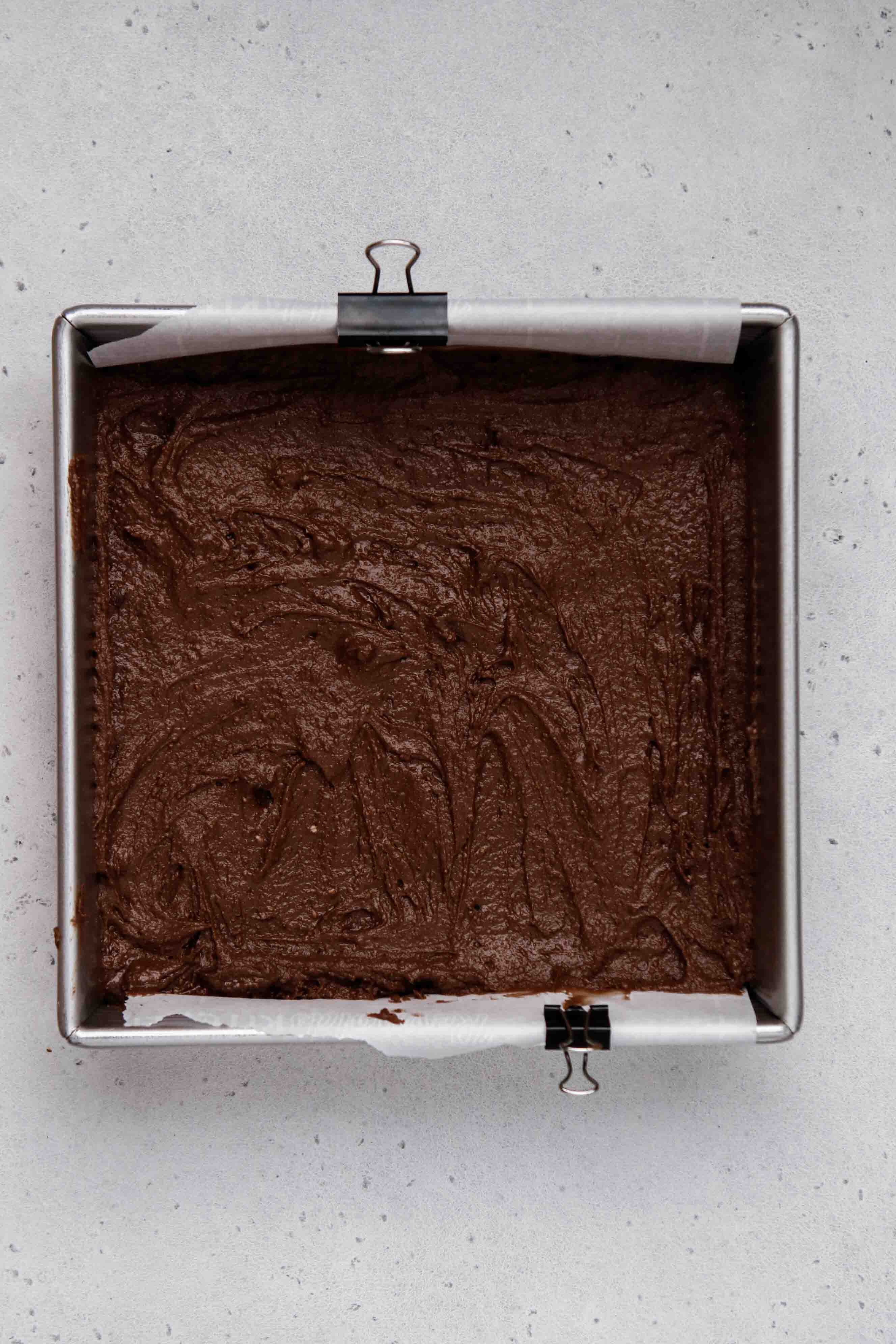 brownie mix batter