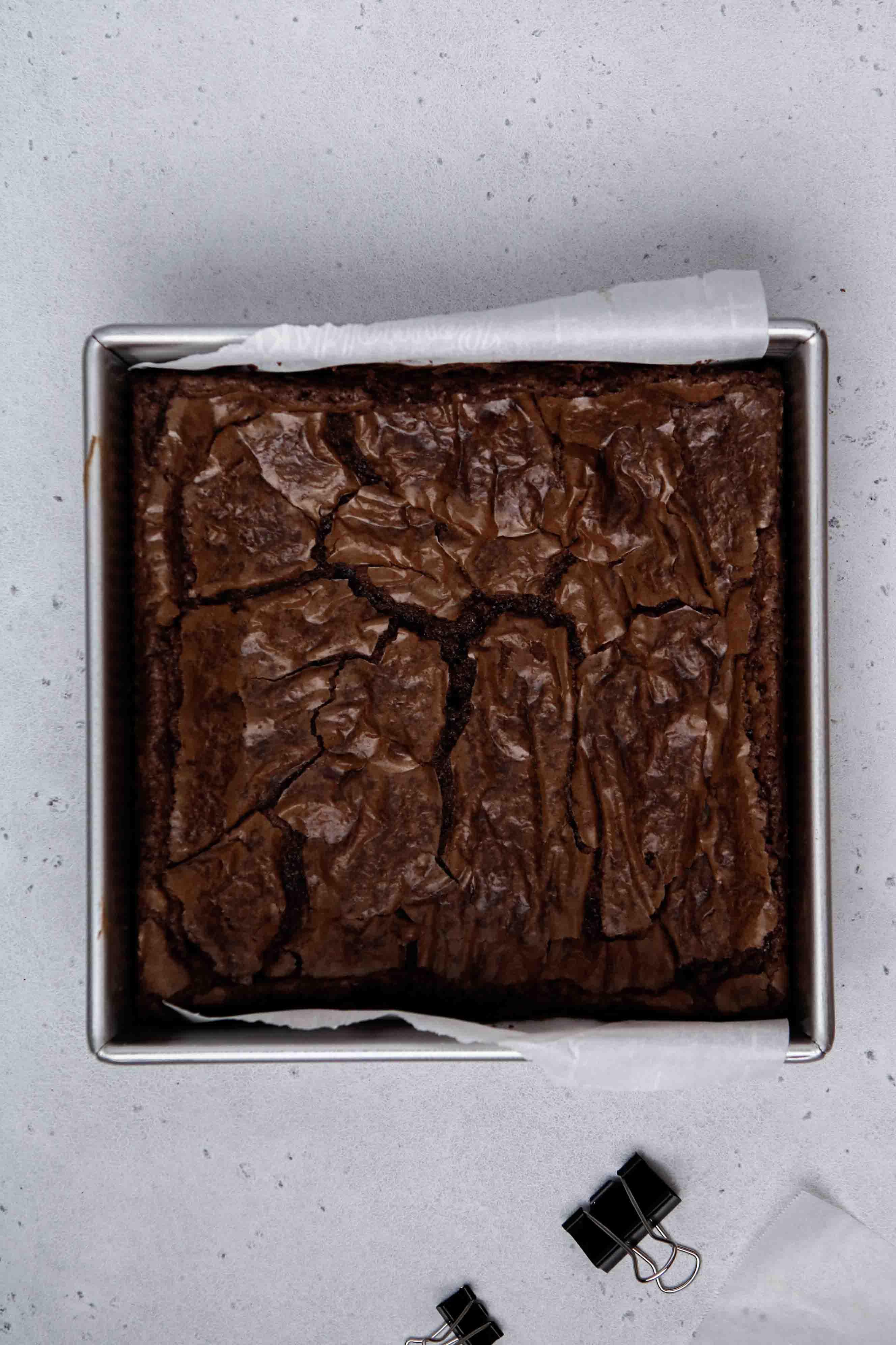 baked brownie mix brownies