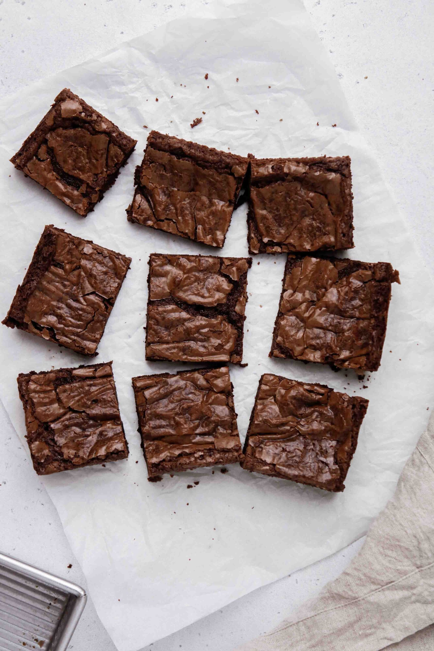 How to cut brownies
