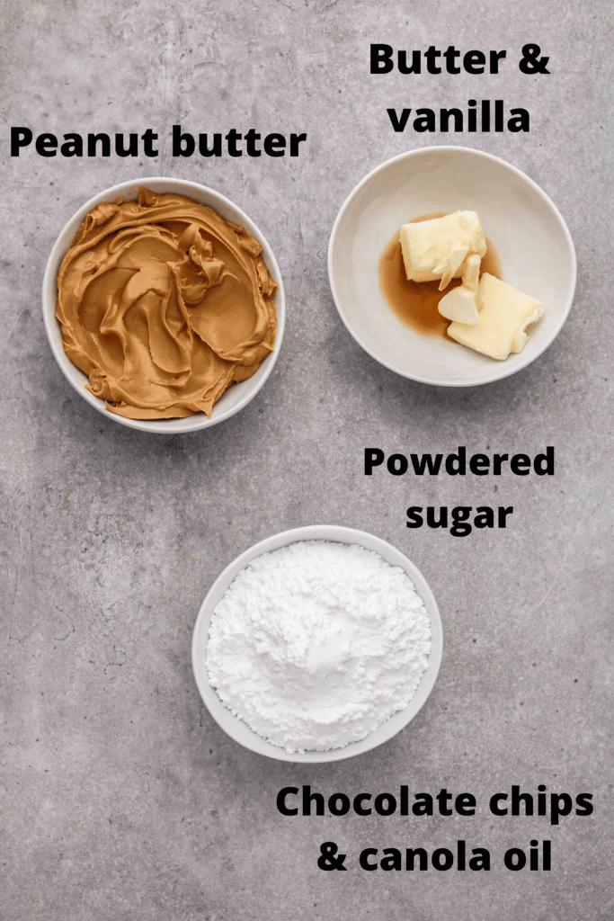 peanut butter egg recipe ingredients