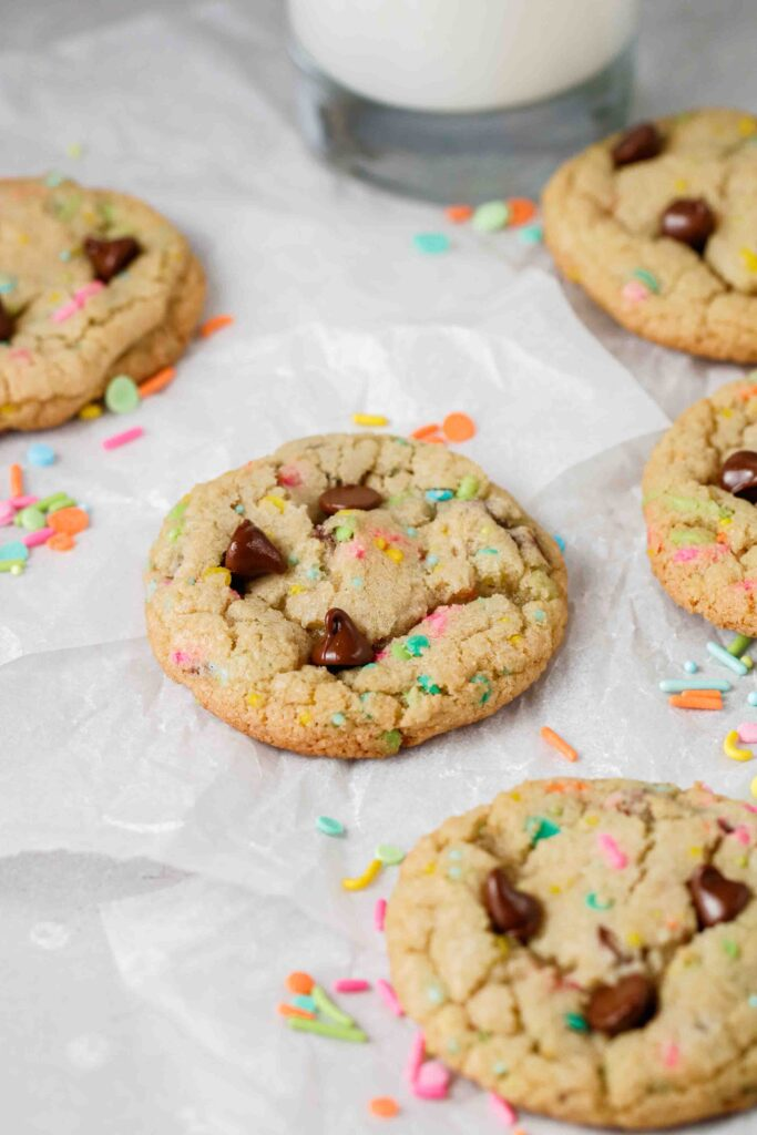 Soft and chewy Easter cookies
