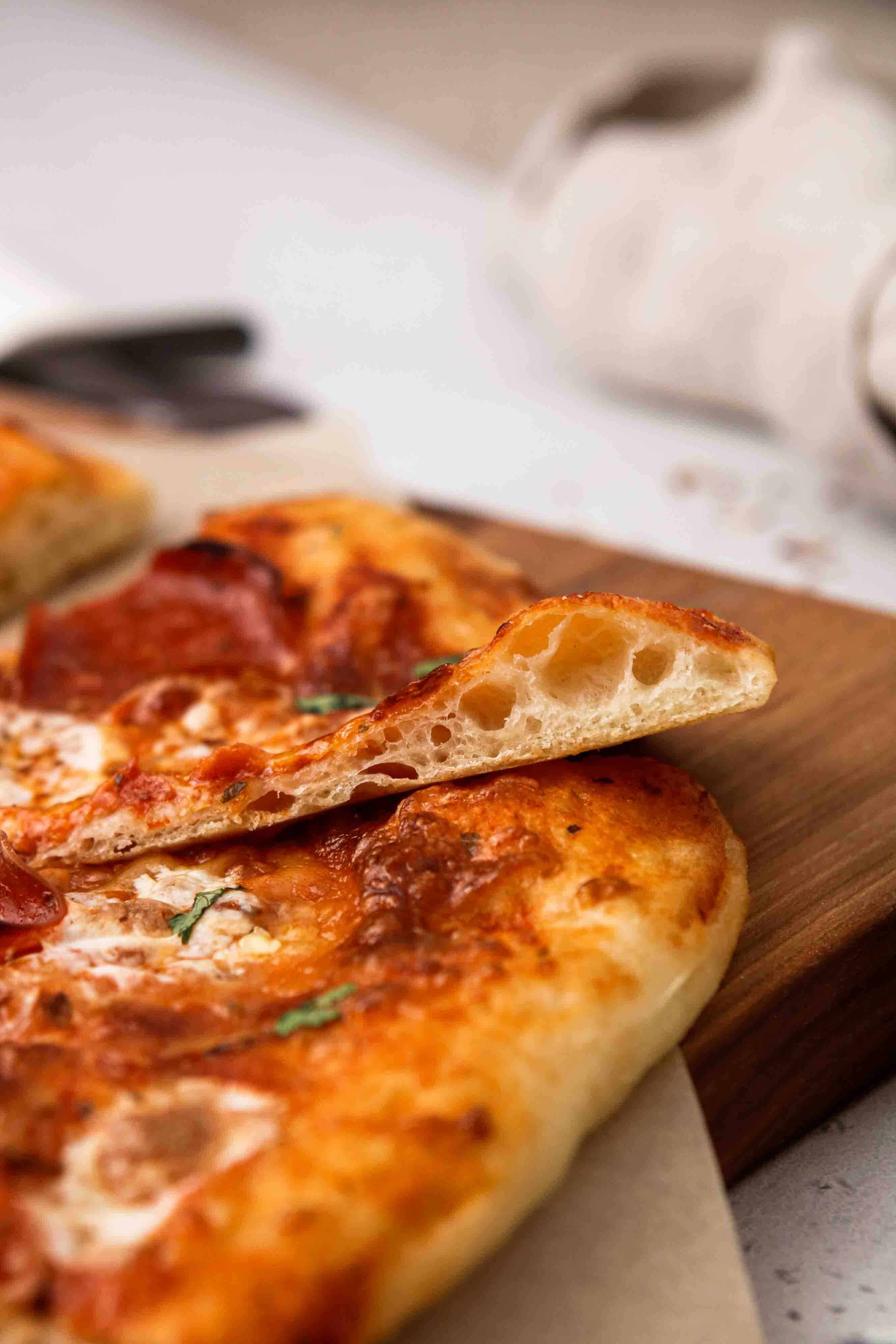 The best no knead pizza dough