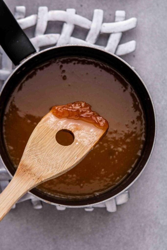 How to fix clumpy caramel