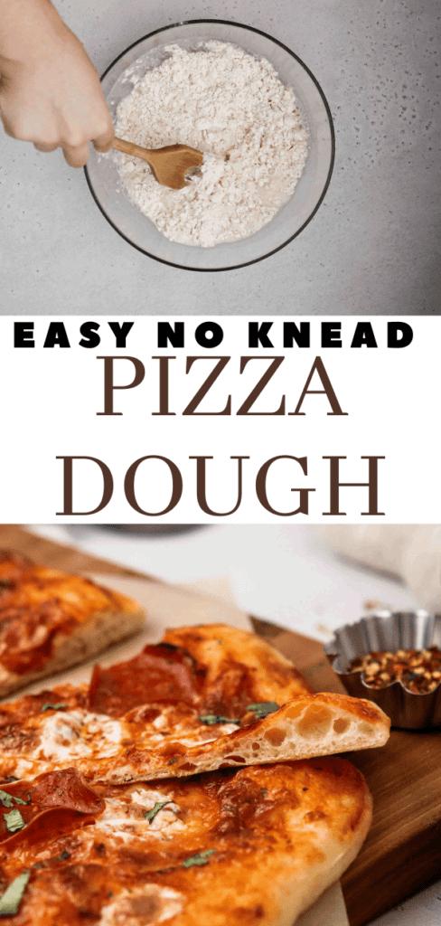 stir pizza dough