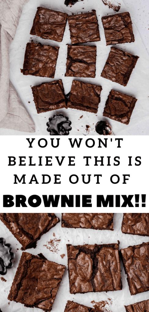 brownie mix brownie better