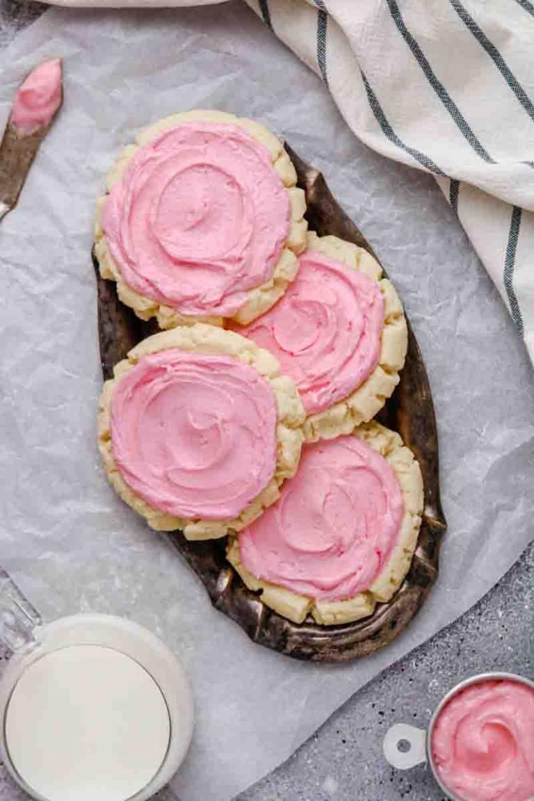 Crumbl sugar cookie copycat recipe