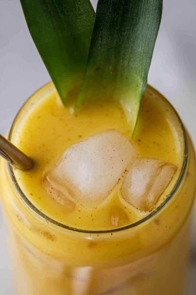 Iced golden ginger drink Starbucks