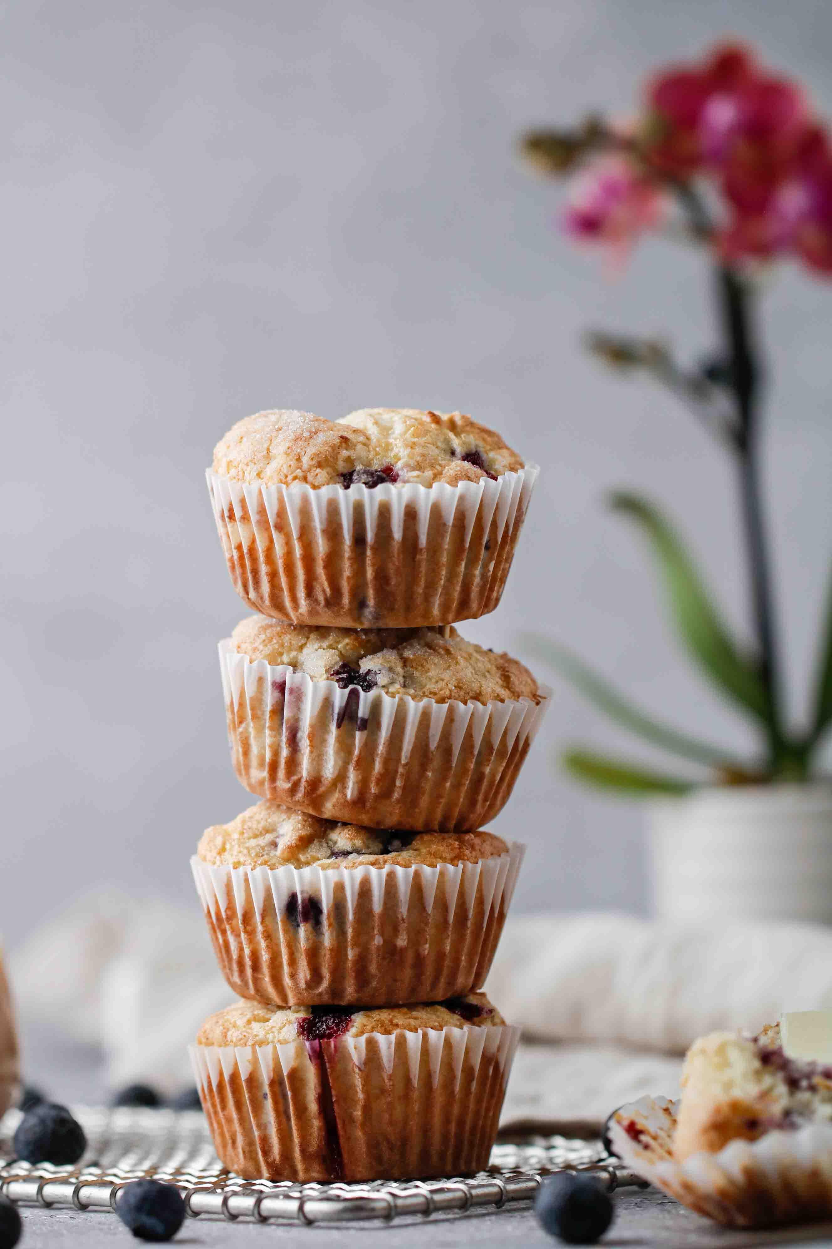 Pancake mix blueberry muffin recipe