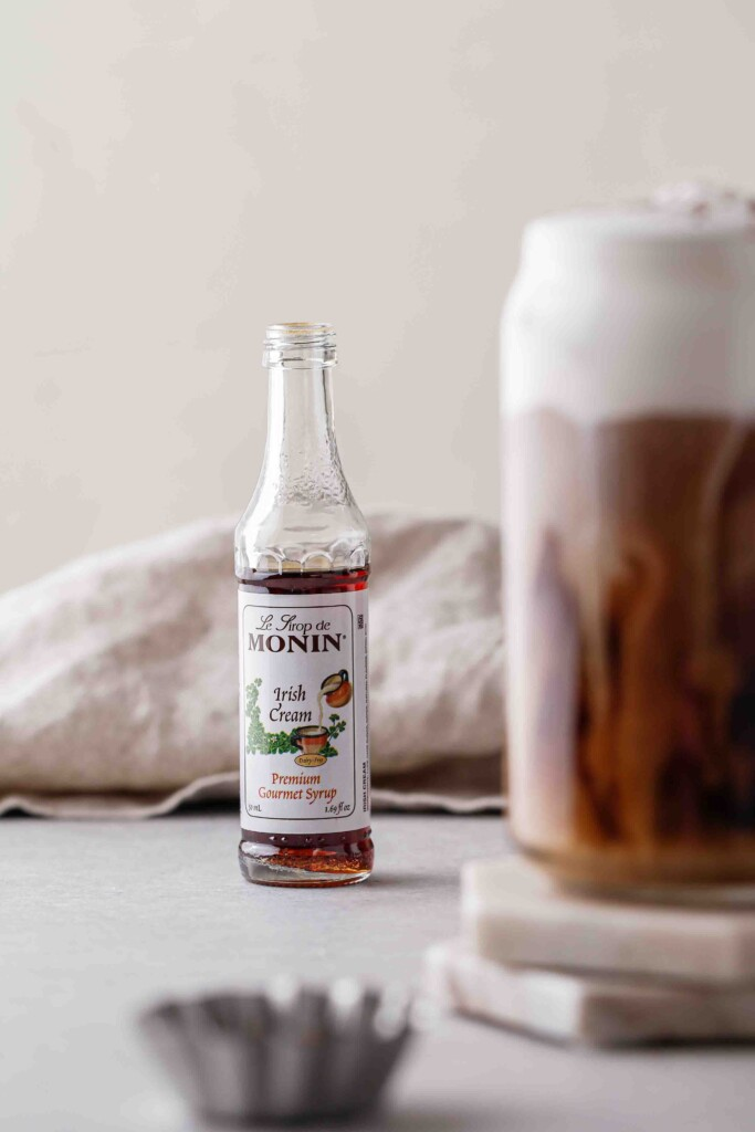 Monin Irish cream syrup