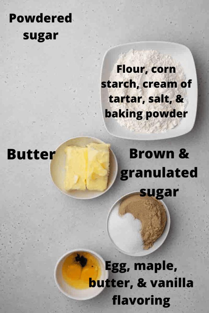 Crumbl waffle cookie ingredients