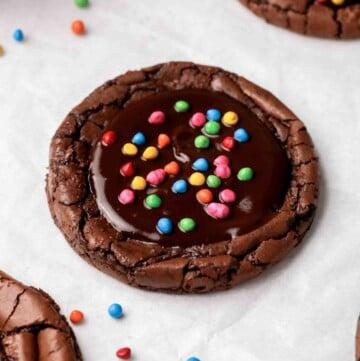 CRUMBL Cosmic brownie cookies