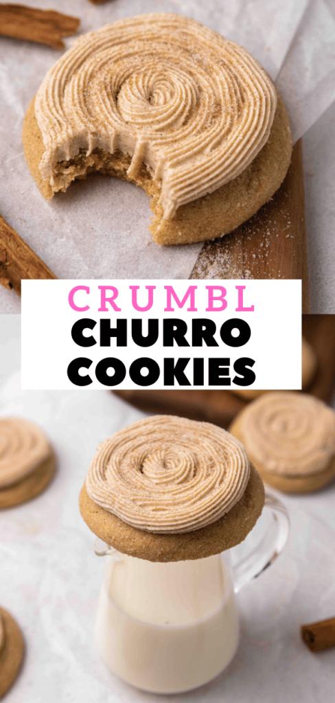 CRUMBL churro cookies