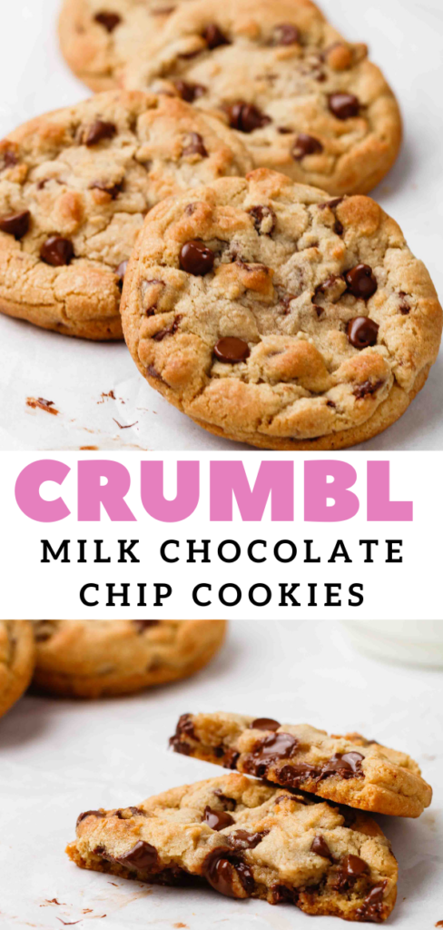 CRUMBL Chocolate chip cookie copycat recipe