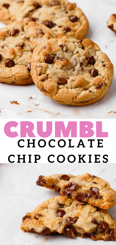 Milk chocolate chip cookie pin