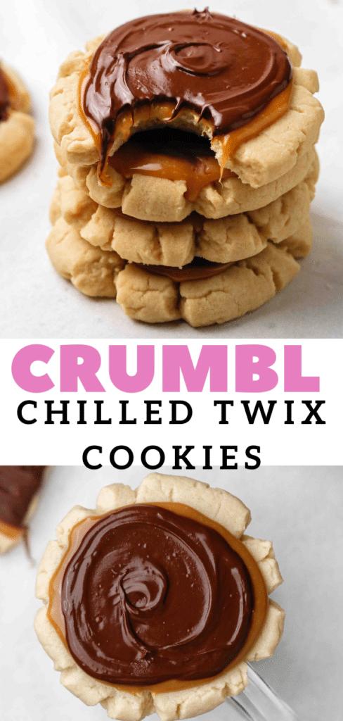 CRUMBL Twix cookie