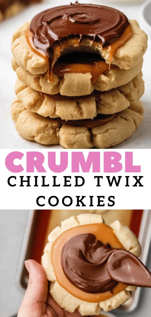 Giant Twix cookie
