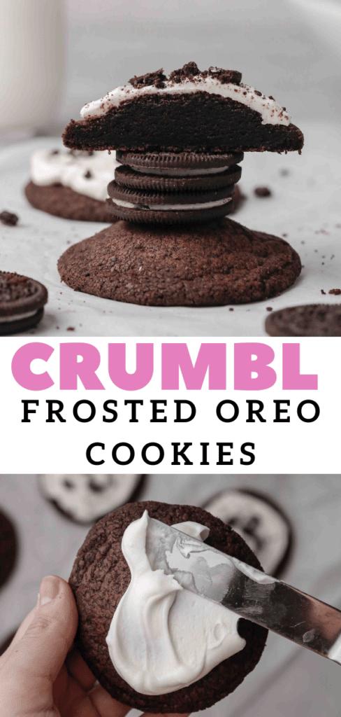 Soft Oreo sugar cookies