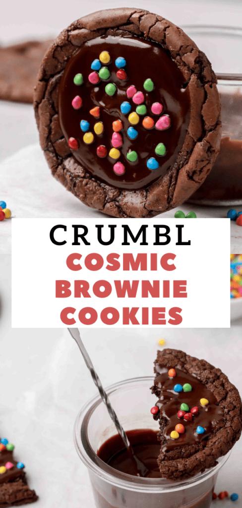 CRUMBL Cosmic brownies