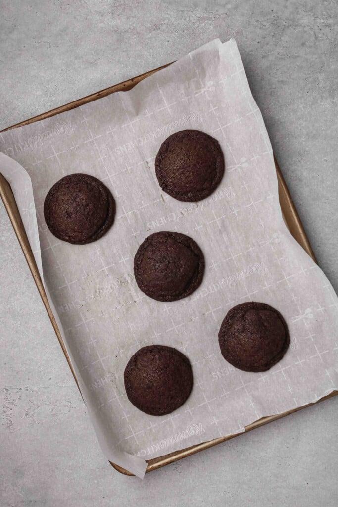 Baked Oreo sugar cookies