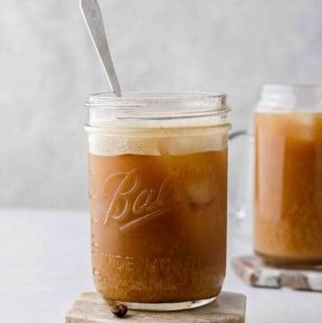 Starbucks Iced Brown Sugar Oat Milk Shaken Espresso Starbucks Copycat Drink