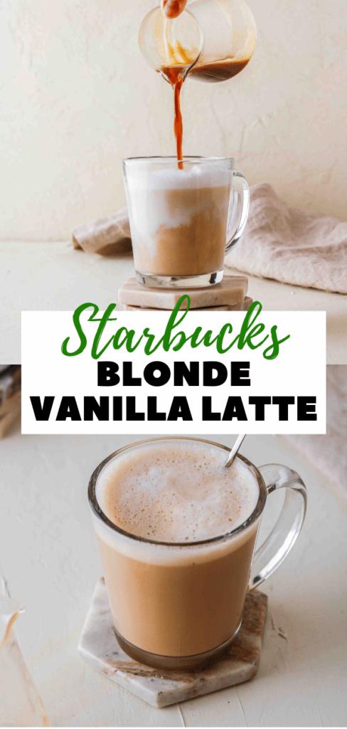 Hot Vanilla Latte Starbucks Copycat recipe