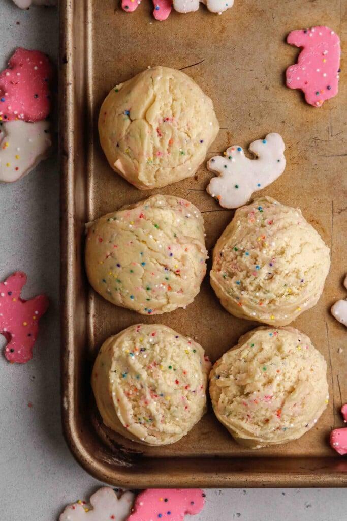 circus animal cookie dough