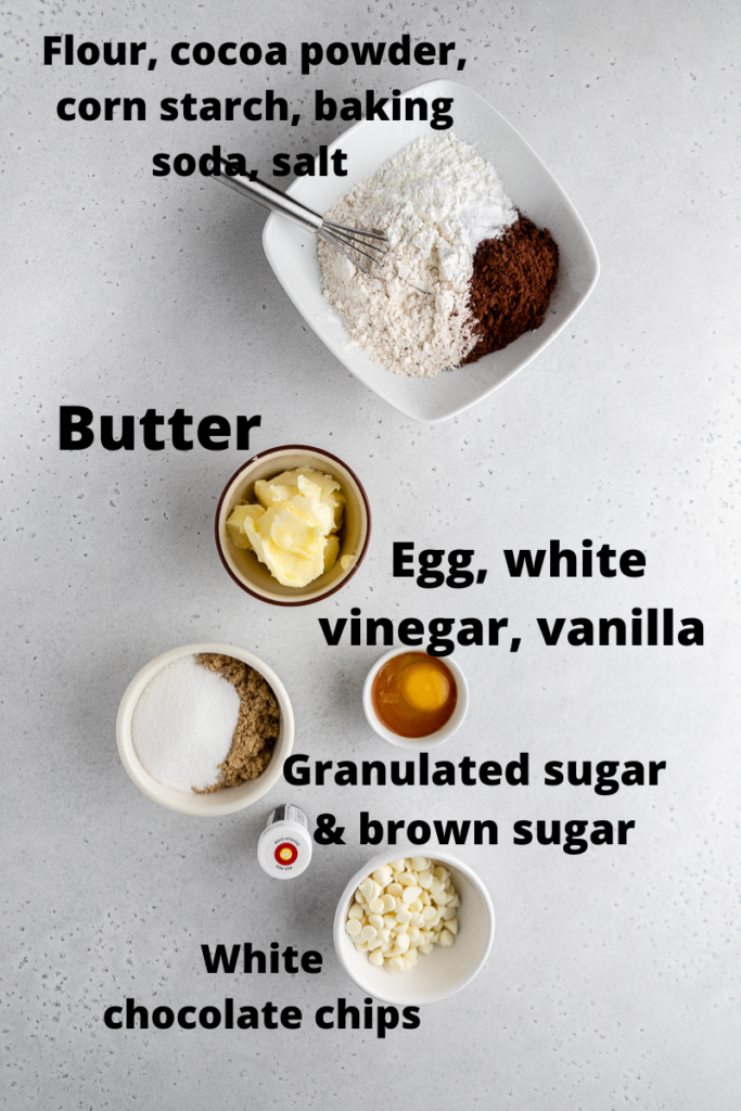 CRUMBL red velvet cookie ingredients