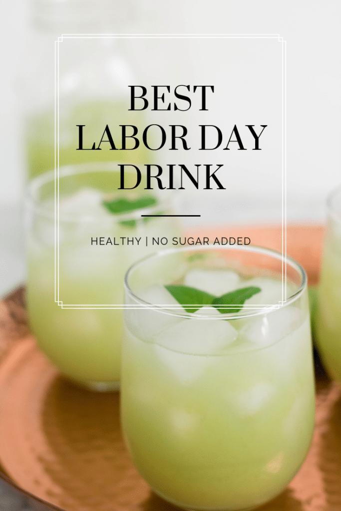 Labor day grape cooler