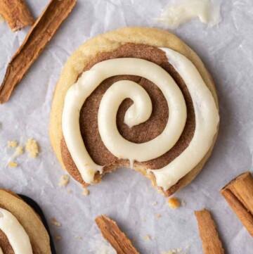 CRUMBL Cinnamon Swirl Cookies