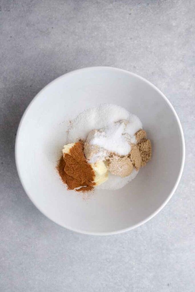 Brown sugar cinnamon mixture