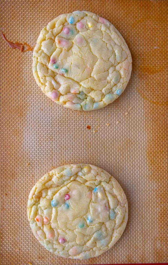 Sprinkles cake mix cookies