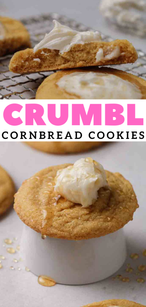 Crumbl corn bread cookies