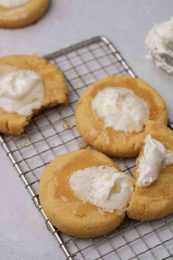 This CRUMBL cornbread cookies